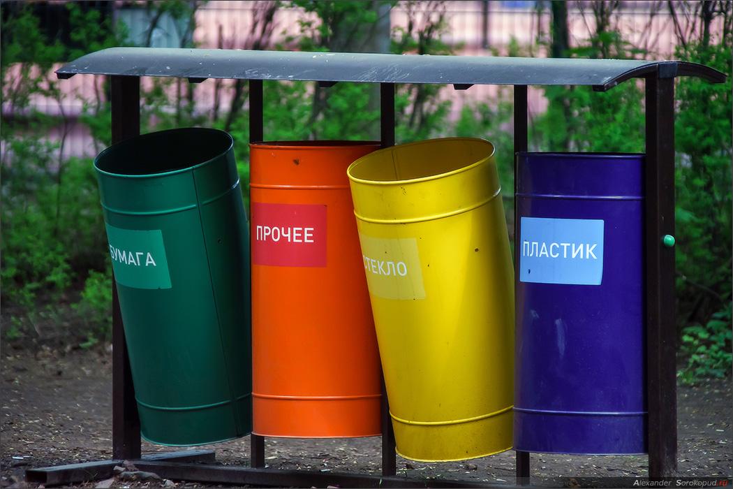 Раздельный сбор мусора – нео…