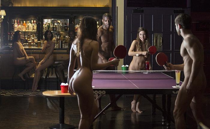 голый пинг-понг