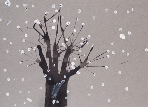 зимние поделки своими руками