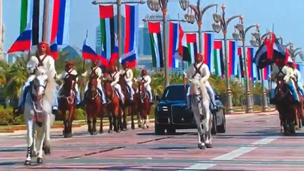 Путина встретили как царя в ОАЭ