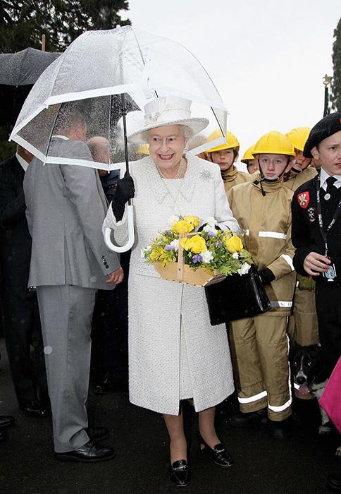 Королева в белом.