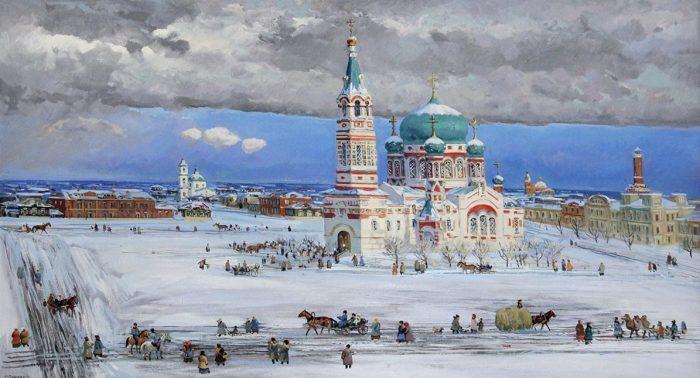 художник Сергей Евгеньевич Сочивко картины – 06