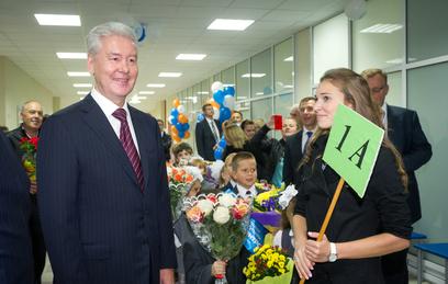 Собянин открыл новое здание школы в Хорошевском районе столицы