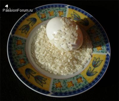 """Красим яйца к Пасхе оригинальным способом... Крашенки """"мраморные"""""""