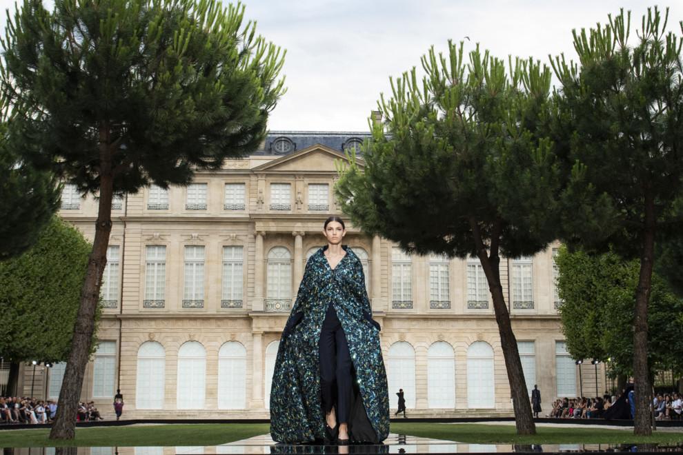 Посвящение великому: коллекция Givenchy Couture осень-зима 2018/2019