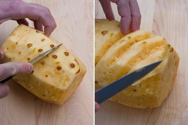 Как правильно почистить ананас в домашних условиях