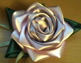 Как сделать своими руками цветок из ткани Поделки из