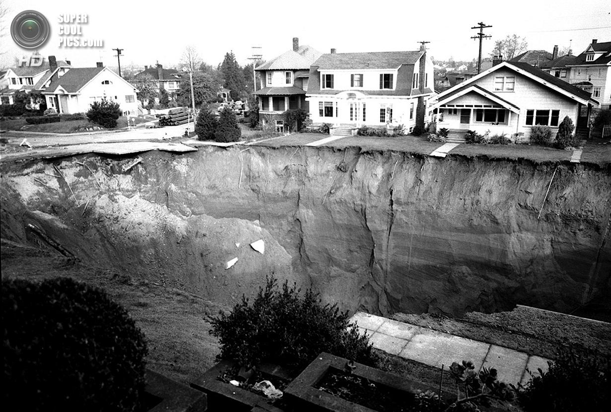 Карстовые воронки: Когда земля разверзается