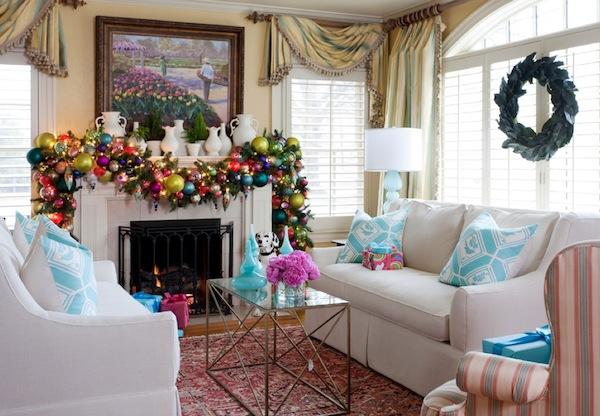 Праздничный рождественский интерьер для дома - Фото 3