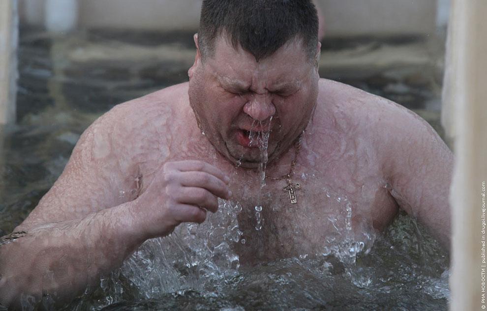 Крещение в Новосибирске