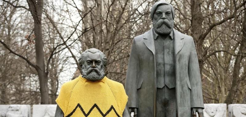 Карла Маркса отогрели