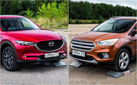 Чей полный привод круче - Ford Kuga или Mazda CX-5?