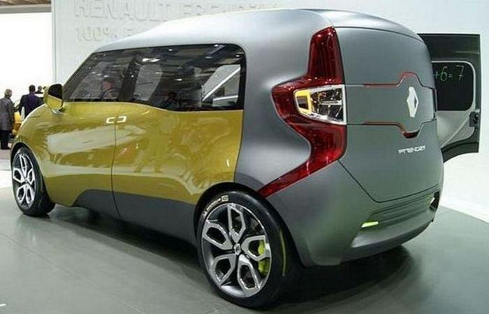 Концепт Renault's Frendzy.