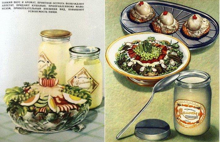 История советского майонеза, который считался праздничным продуктом