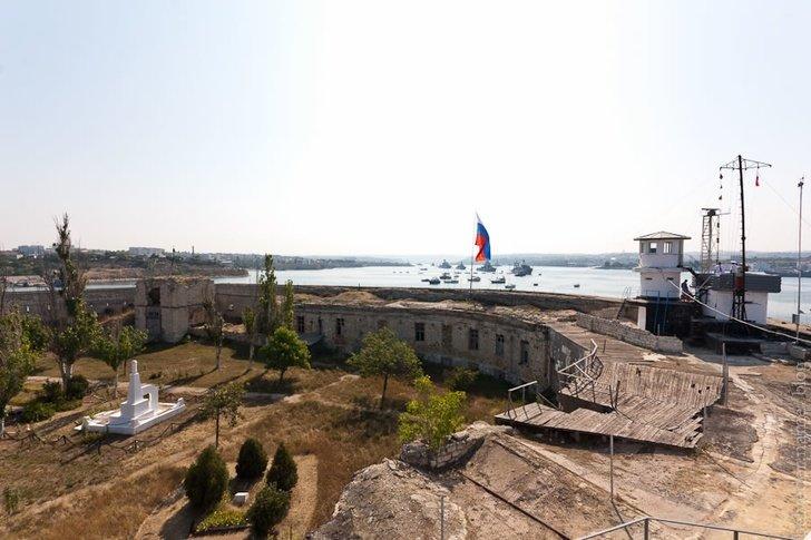 Константиновская батарея реконструирована в Севастополе Константиновская батарея, Севастополь, реконструкция