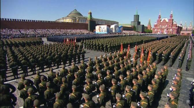 На территории России в Парадах Победы примут участие более 140 тысяч военнослужащих