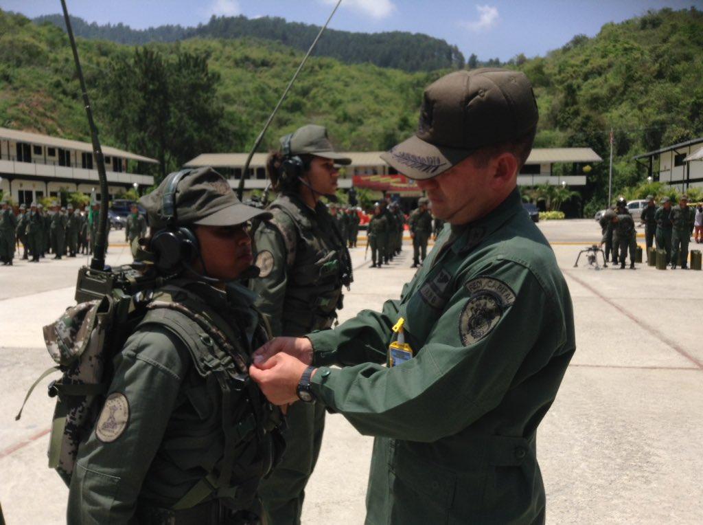 Служба и быт 31-й механизированной бригады вооруженных сил Венесуэлы