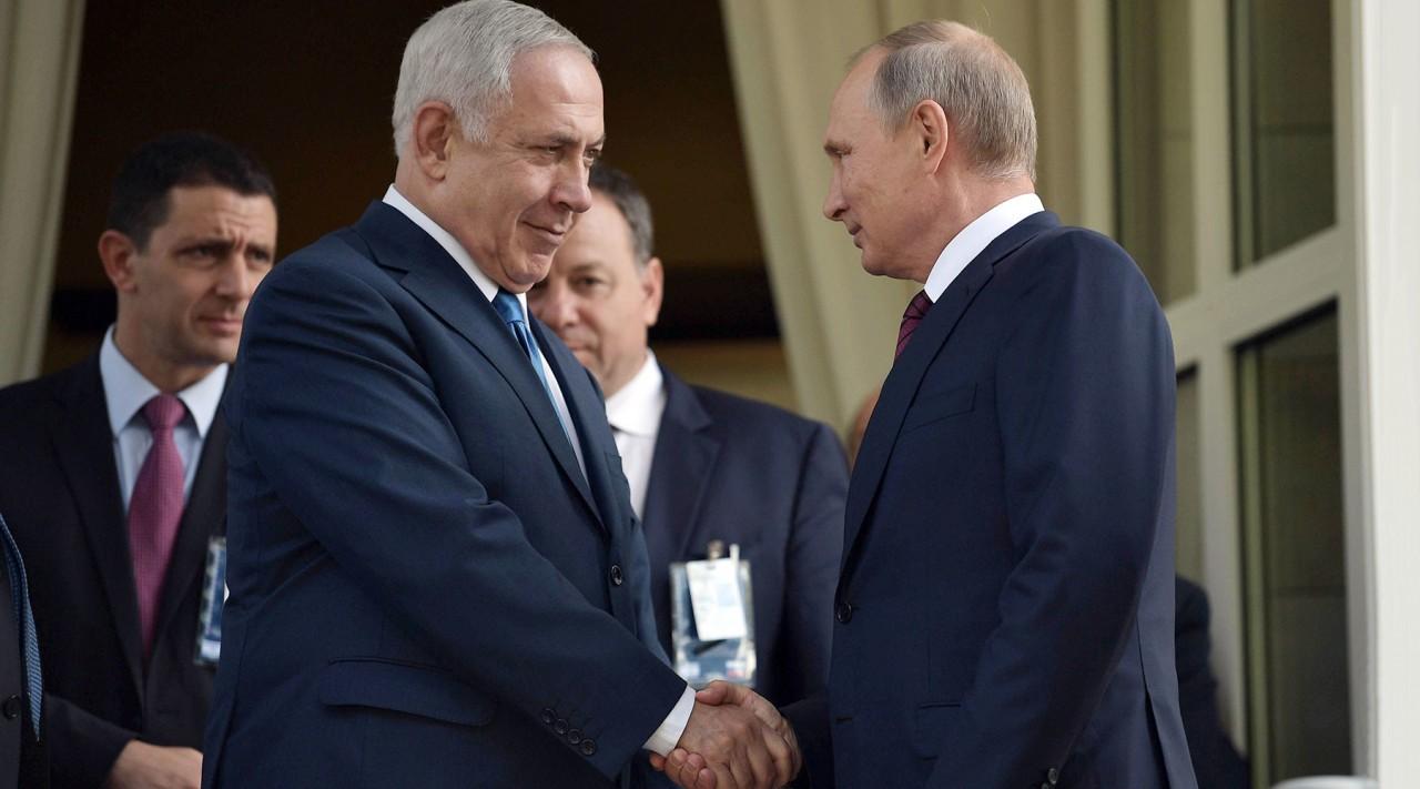 Путин и Нетаньяху почтили память жертв Холокоста в Еврейском музее Москвы