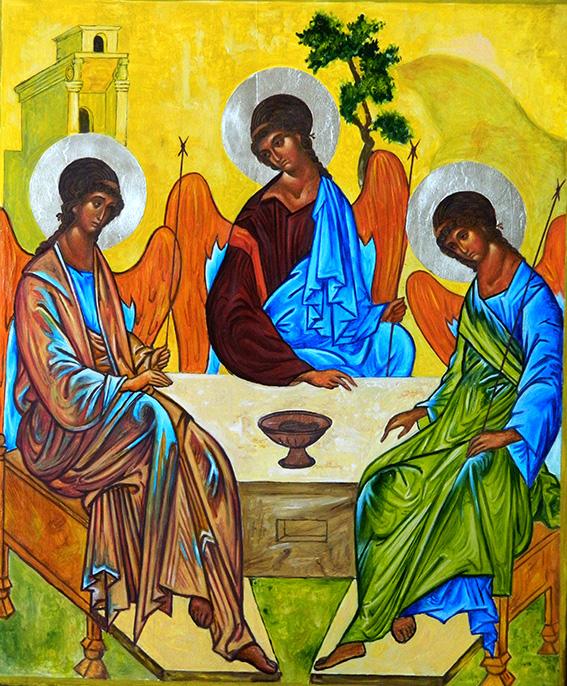 Тайны великих картин: «Троица» Андрея Рублева