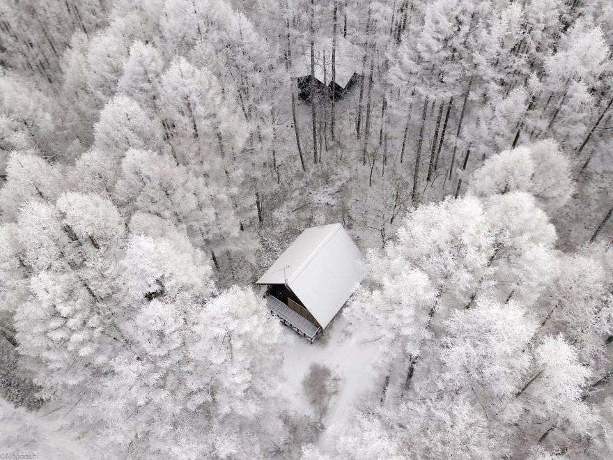 Настоящая зимняя сказка в Японии