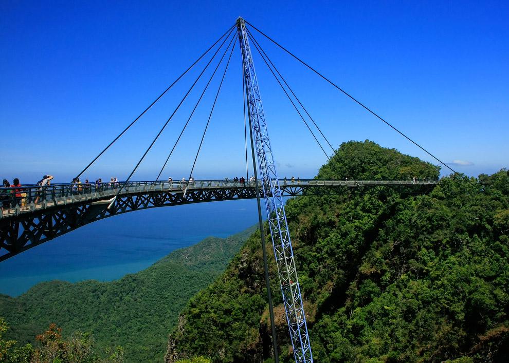 «Небесный мост» на острове Лангкави (Langkawi Sky Bridge)