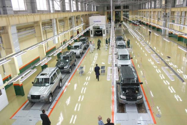 УАЗ разработает компактный кроссовер