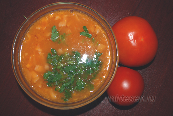 Томатный суп-пюре - вкусное, легкое и полезное дачное блюдо