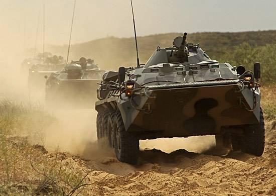 В Абхазии российскими военнослужащими проведено батальонное тактическое учение