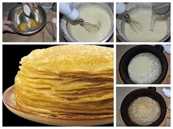 Как приготовить тонкие блины на кефире - классический рецепт вкусных блинчиков плюс секреты приготовления Рецепт, Блины, Масленица, Вкусно, Видео, Длиннопост