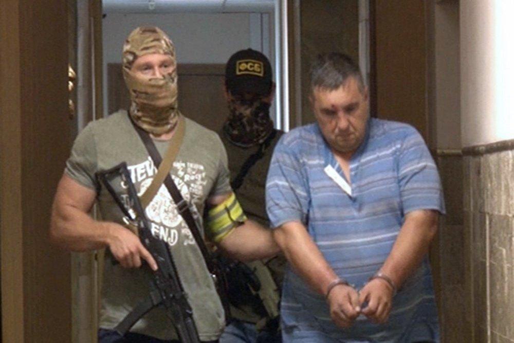 В Крыму украинского диверсанта осудили на восемь лет