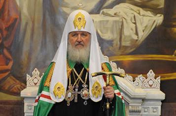 """Патриарх: """"Надо изменить информполитику в стране"""""""