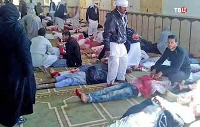 Жертвами атаки на мечеть в Египте стали 235 человек
