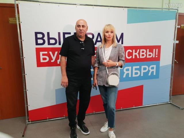 Валерия и Иосиф Пригожин рассказали, почему пришли на выборы мэра Москвы