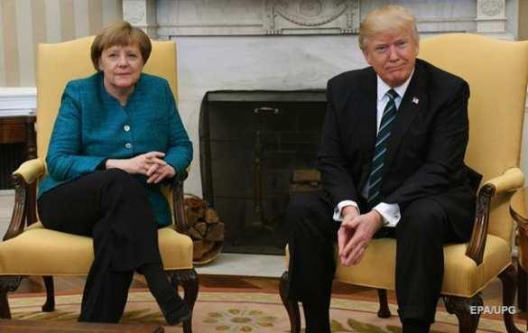 Меркель заявила Трампу онеобходимости сотрудничества сРоссией поСирии