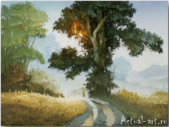 Лес стоит, как живой... сказочной красоты пиейзажи Виктора Быкова
