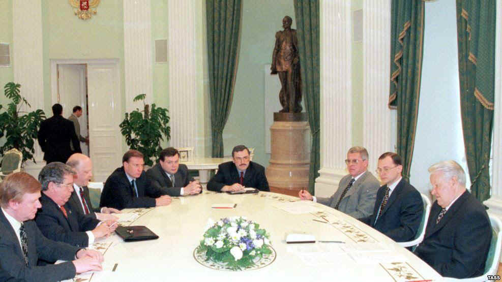 "Как Путин разбирался с ""семибанкирщиной"""