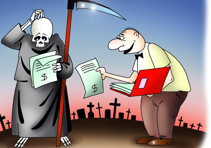 «Налог на смерть» был похоро…