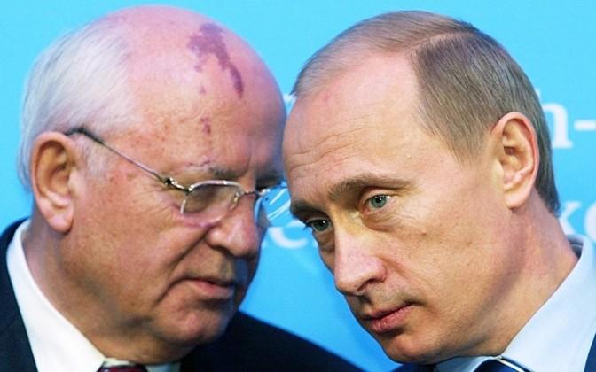 Александр Росляков. Путин уподобился Горбачеву: гори страна огнем, лишь бы я был у ее руля!