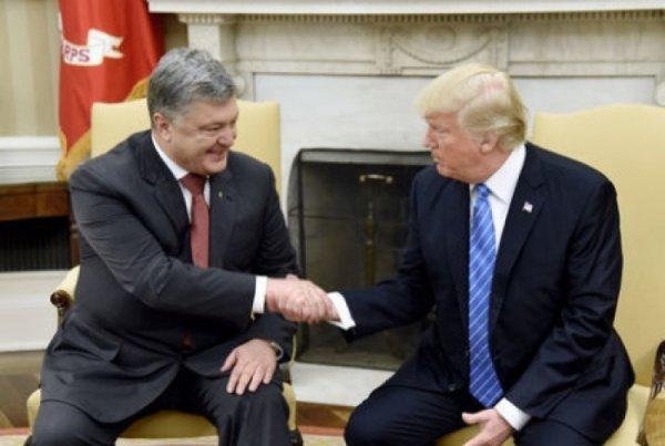 Американский фотошоп: за встречу с Трампом Порошенко заплатил полмиллиона долларов