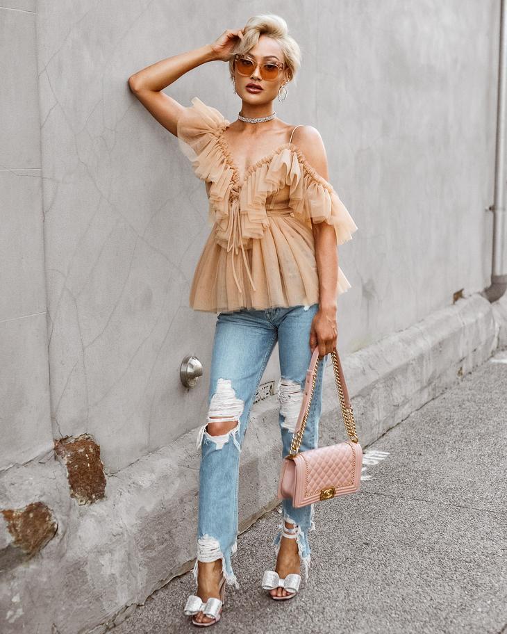Сногсшибательно красивые и удобные летние джинсы 2018 год: 25 вариантов