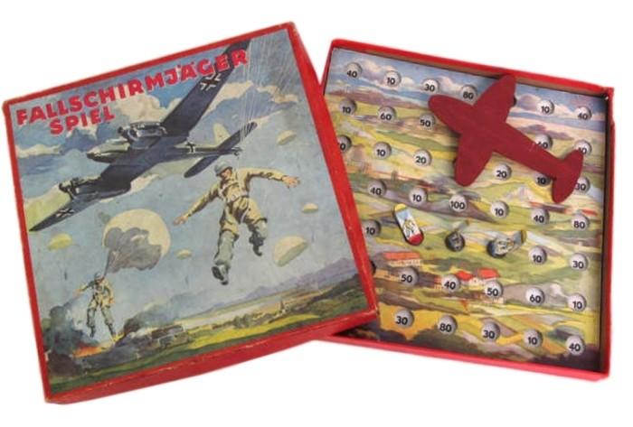 Игра за немецкого парашютиста, 1941 год. германия, настольные игры, пропаганда