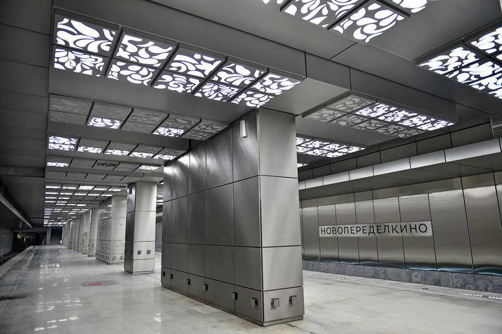 Строительство Солнцевского радиуса Калининско-Солнцевской линии