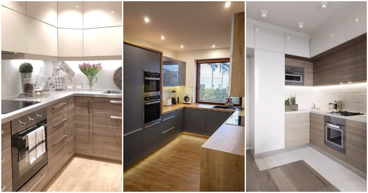Современная угловая кухня — 23 восхитительных решения для дома