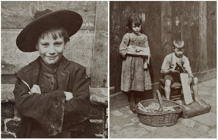 Фотографии 100-летней давности о жизни бездомных детей