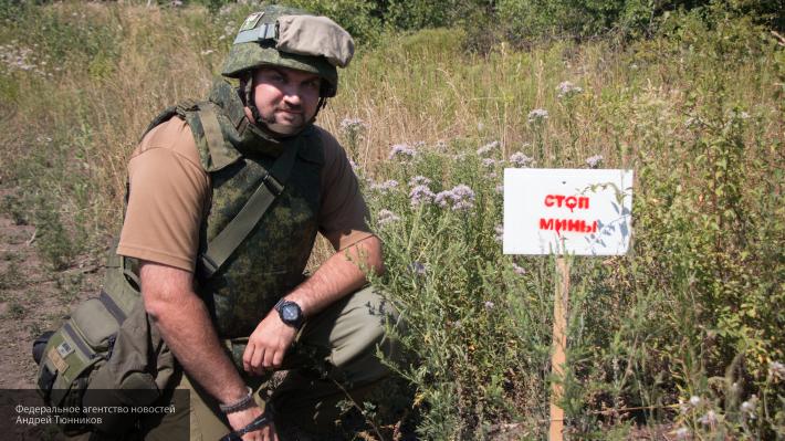 Мобильный импульсный взрыватель мин «Возница» представлен в РФ