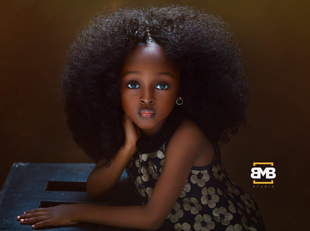 Маленькая нигерийка признана самой красивой девочкой в мире