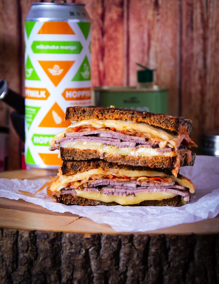 """Вариация на тему классического сэндвича """"Рубен"""" Еда, Рецепт, Сэндвич, Кулинария, Dinoburger, Вкусно, Просто, Длиннопост"""