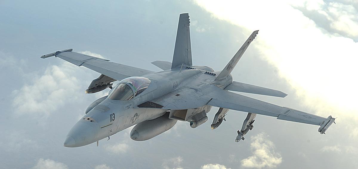 Корпорация Boeing заявляет о том, что истребитель F/A-18E/F Block III может взлетать с трамплина