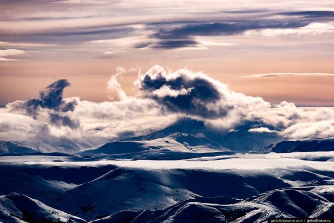 Наша Родина - Север Камчатки с высоты