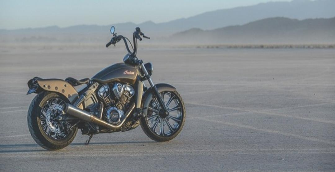 Фото Outrider, Klock Werks, Indian Scout